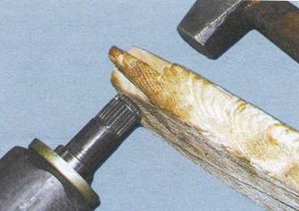 Устанавливаем ШРУС на привод ВАЗ 2109