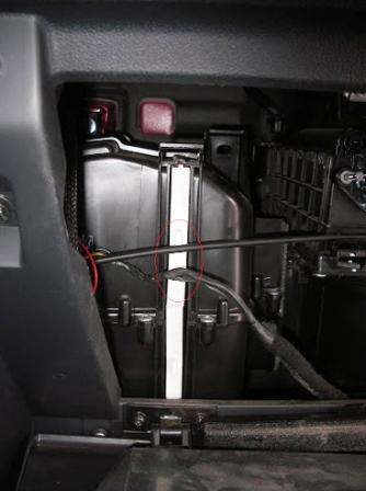 снимием салонный фильтр Hyundai Getz
