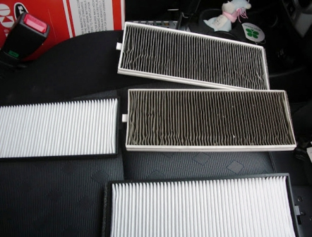 Замена салонного фильтра Hyundai Getz