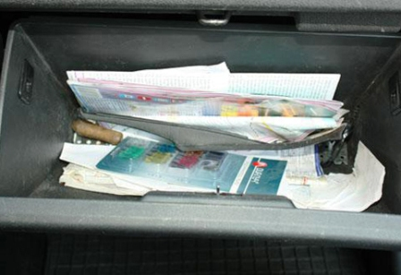 Открываем бардачок Hyundai Getz