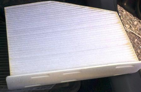 Замена салонного фильтра Renault Megane 2