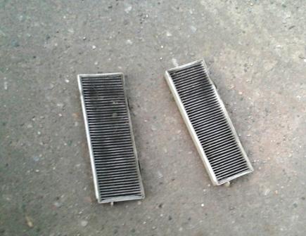 Старые салонные фильтры Honda Accord VI