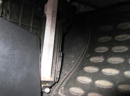 Меняем салонный фильтр Honda Civic 5D