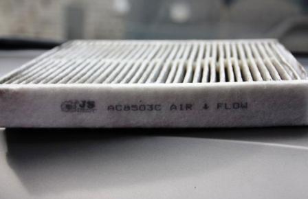 Замена салонного фильтра Honda Civic 5D