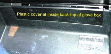 Открываем бардачок Lexus RX300