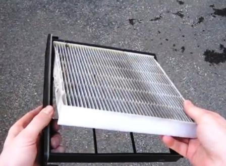 Меняем салонный фильтр в рамке Honda Odyssey III