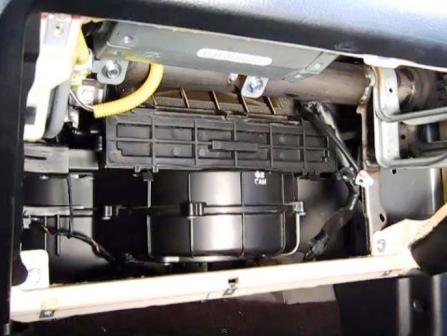 Блок салонного фильтра Hyundai Tiburon II