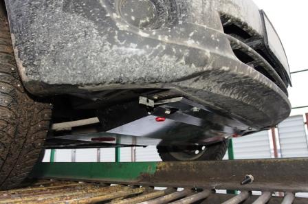 Новая защита двигателя Лада Гранта