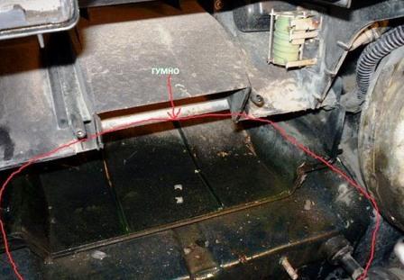 Меняем радиатор отопителя салона на новый ВАЗ 2110, 2111, 2112