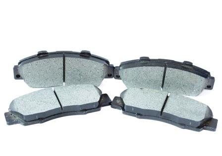 Замена передних тормозных колодок Honda Accord V