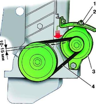Проверяем натяжение генератора ВАЗ 2108, 2109, 21099