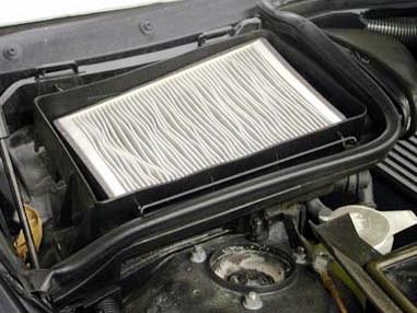 Вставляем новый салонный фильтр BMW E39