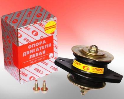 Снятие и замена опоры двигателя ВАЗ 2110, 2111, 2112