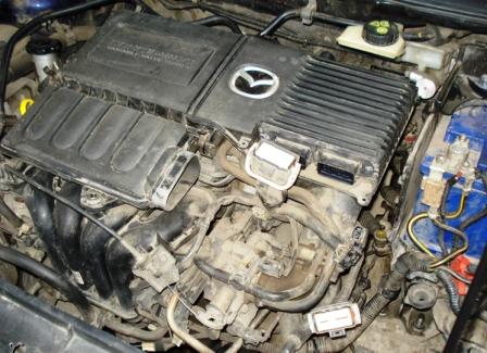 Двигатель без воздухозаборника Mazda 3 1.6