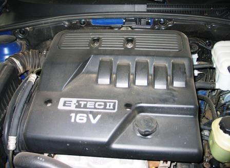 Открываем капот Chevrolet Lacetti