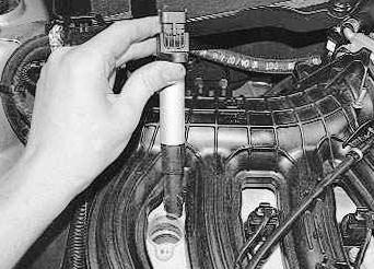 Вытаскиваем катушку зажигания ВАЗ 2110, 2111, 2112