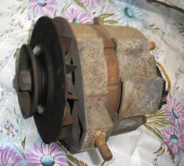 Снятие и замена генератора ВАЗ 2107