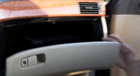 Открываем бардачок Lexus LS430