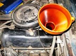 Слив и замена масляного фильтра ВАЗ 2106