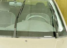 Ставим щетки в вертикальное положение Ford Focus 1