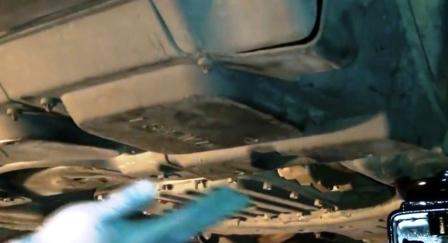 Панель закрывающая масляный фильтр Lexus IS250