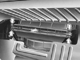 Снимаем крышку и меняем салонный фильтр Hyundai Solaris