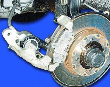 Открываем тормозной суппорт ВАЗ 2108, 2109, 21099