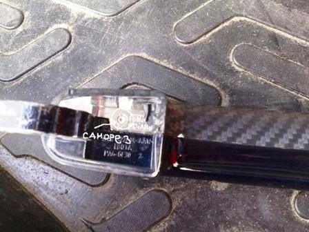 Снимаем верхнюю накладку на ручке Ford Focus 2
