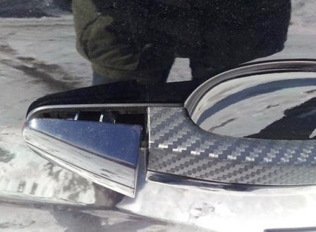 Снимаем переднюю часть ручки Ford Focus 2