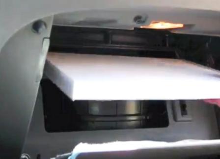 Вставляем новый салонный фильтр Hyundai Sonata 6