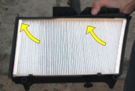 Снятие и замена салонного фильтра Mercedes-Benz C230 w203