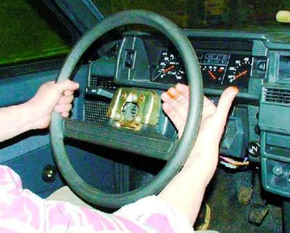 Сбиваем руль на себя ВАЗ 2108, 2109, 21099