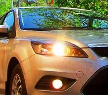 Снятие и замена ламп ближнего и дальнего света на Ford Focus 2 рестайлинг