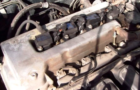 Катушки зажигания Toyota Corolla E12 1.6