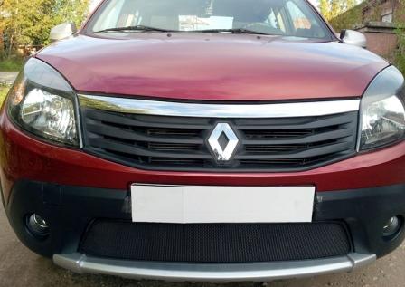 Снятие и замена переднего бампера Renault Sandero