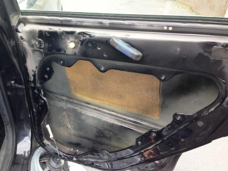 Пустая дверь Ford Focus 2