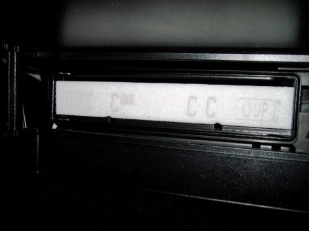 Старый салонный фильтр Toyota Camry VII