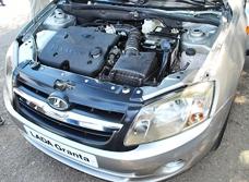 Слив и замена масла в двигателе Lada Granta