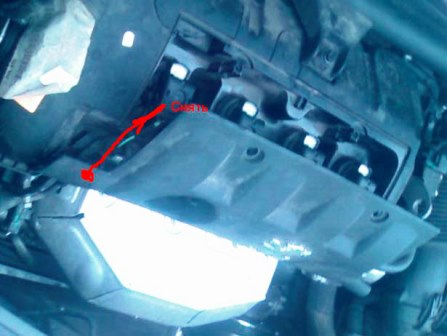 Тянем панель на себя Peugeot 308