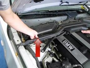 Отключаем датчик BMW e60