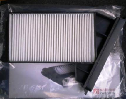 Вставляем новый салонный фильтр Mitsubishi Galant 8
