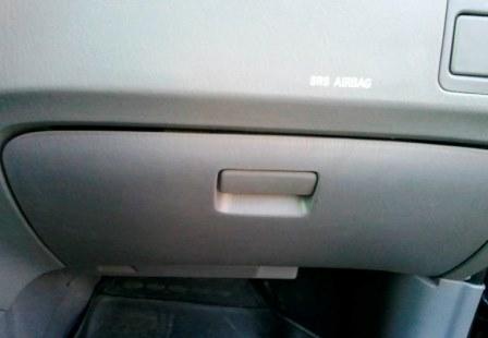 Открываем бардачок Hyundai ix35