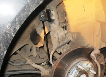 Старая стойка стабилизатора Chevrolet Lacetti