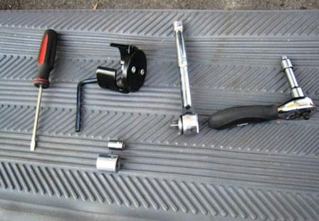 Необходимые инструменты для замены масла Mazda 3 2.0
