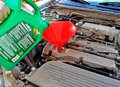 Замена масла в двигателе Mazda 3 2.0