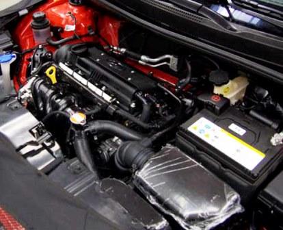Замена масла в двигателе 1.6 Hyundai Solaris
