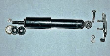 Снимаем кронштейн от амортизатора ВАЗ 2107