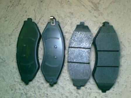 Новые передние тормозные колодки Daewoo Nexia