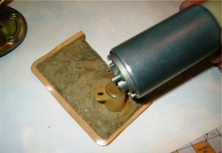 Старый фильтрующий элемент Daewoo Nexia