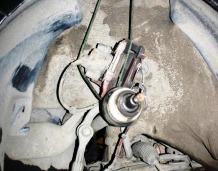 Подвешиваем привод и суппорт Volkswagen Golf IV